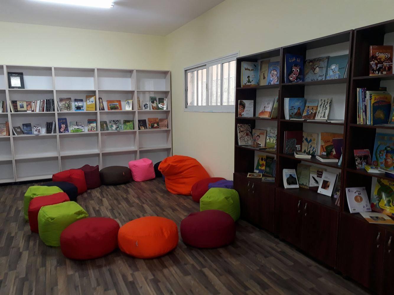 الانتهاء من تجهيز مكتبة برطعة المجتمعية وبدء نشاطاتها.