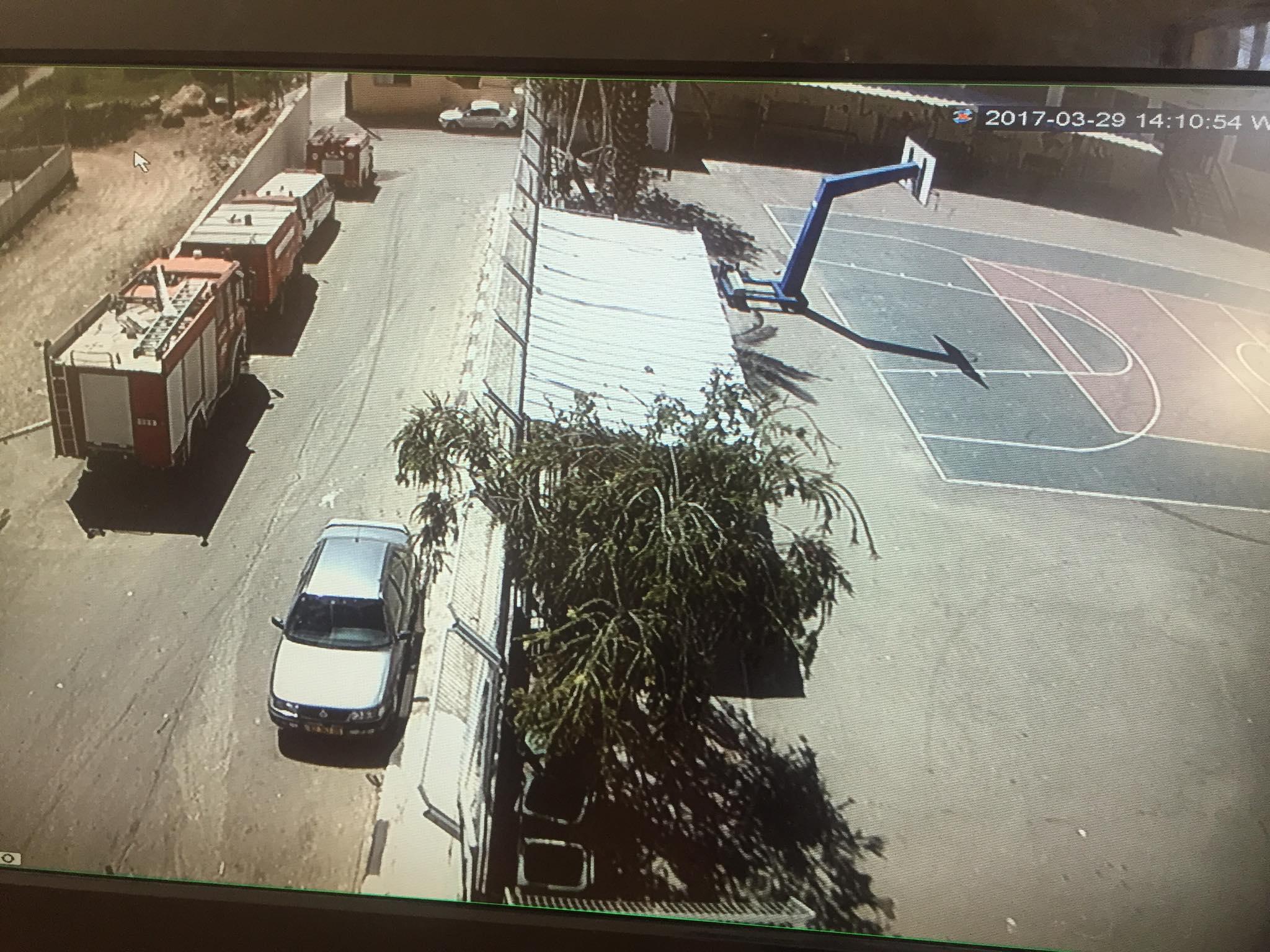 الانتهاء من تركيب كاميرات حماية لمدرسة برطعة الاساسية للبنين .