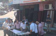 زيارة وفد من الاتحاد الاوروبي وصندوق تطوير واقراض البلديات ووزارة الحكم المحلي لبلدية برطعة .
